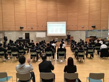 石川県輪島市立門前中学校<br>メディアと睡眠<br>メディアの使い方と眠り方を身につけよう!